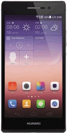 Huawei Ascend P7 с хорошей линзованной камерой для селфи