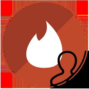 Тиндер изменить имя логотип