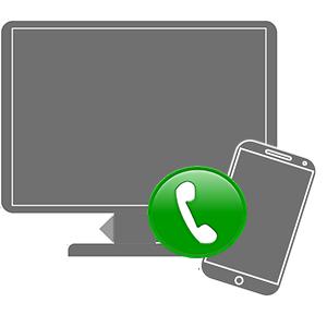 Позвонить с ПК на телефон
