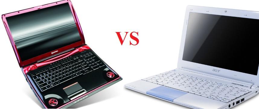 Что лучше выбрать для работы нетбук или лэптоп