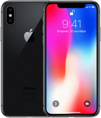 Лучшая селфи камера Apple iPhone X 64GB