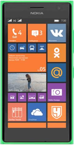 Nokia Lumia 730 творческая селфи камера