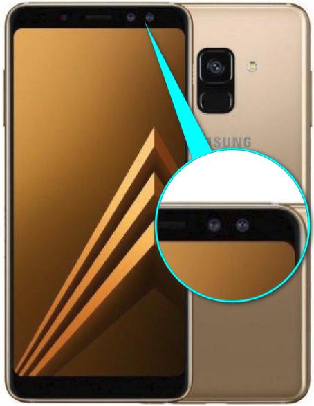 Samsung Galaxy A8 с двойной селфи камерой