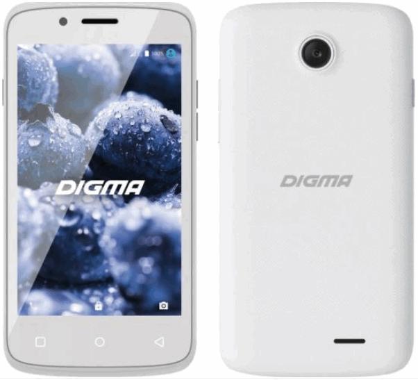 Digma VOX A10 - дешевый сенсорный смартфон