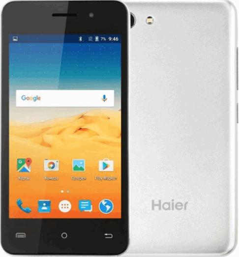 Haier A40 дешевый смартфон