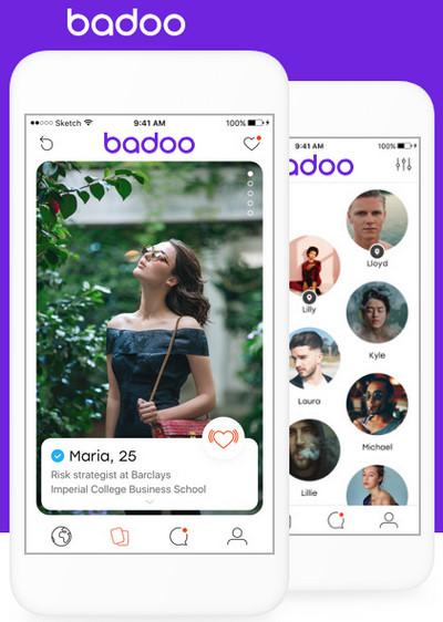 Официальный сайт Badoo