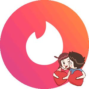 Логотип Тиндер