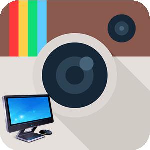 Инстаграм на ПК логотип
