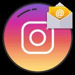 Инстаграм адрес электронной почты логотип