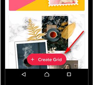 Create Grid для Инстаграма